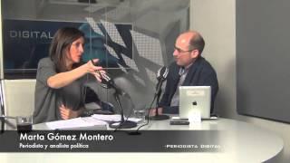 """Marta Gómez Montero: """"Más que alergia a los periodistas, lo que tiene Rajoy es alergia a los titulares"""""""