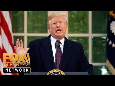 President Trump says he will declare a national emergency