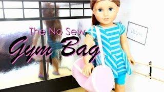 Quick Craft : The No Sew Gym Bag - Doll Crafts