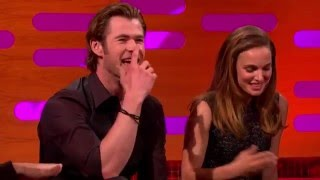 Natalie Portman & Chris Hemsworth - The Graham Norton Show 2013. full download video download mp3 download music download