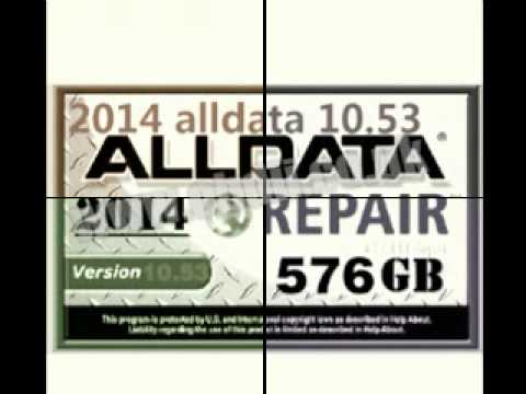 2014  ALLDATA 10.53 Alldata10.53- Auto Repair Software -ALLDATA 10.53