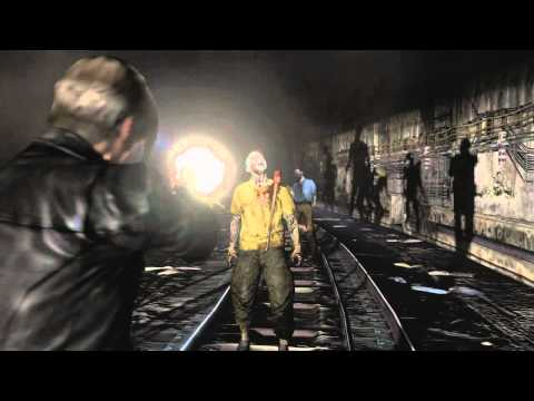 Resident Evil 6 - Gameplay Leon (Comic Con)