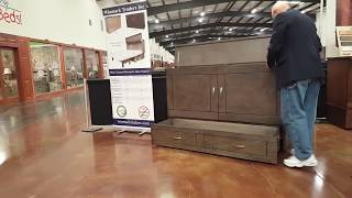 new yorker queen cabinet bed murphy bed by winmark traders