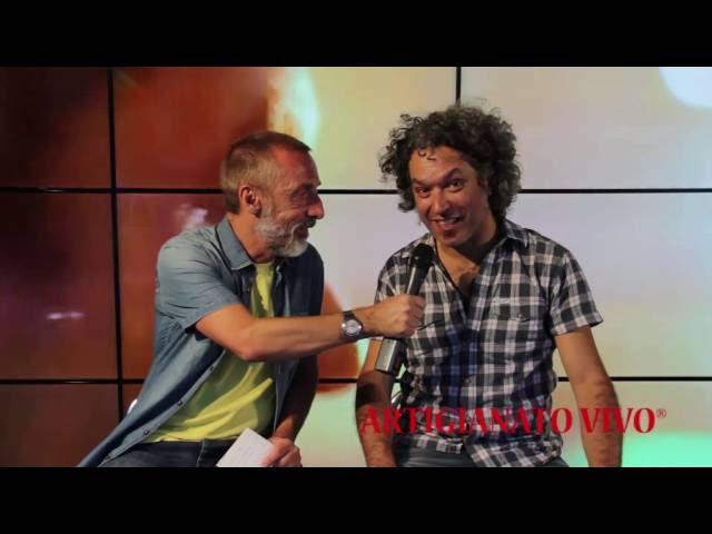 Qdpnews.it - Intervista ad Aldo Betto al QdpPoint di Artigianato Vivo