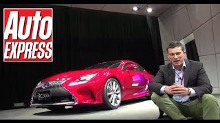Lexus RC Coupe at the Tokyo Motor Show - Auto Express