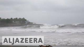 One of the most powerful hurricanes in recent years with dangerous winds and torrential rains has engulfed the Caribbean with Haiti now in the eye of the sto...