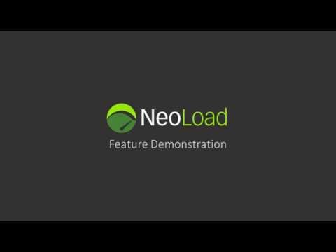 Neoload Feature Tour