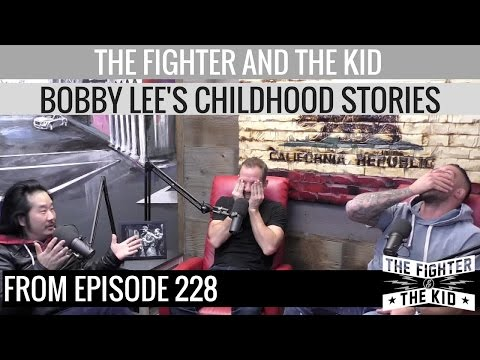 Video Bobby Lee Childhood Story Time on The Fighter and The Kid download in MP3, 3GP, MP4, WEBM, AVI, FLV January 2017