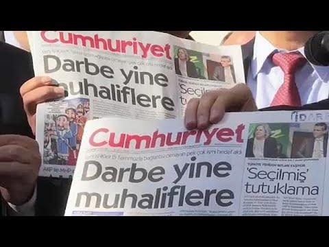 Cumhuriyet: Καταγγέλει φίμωση των ανεξάρτητων ΜΜΕ στην Τουρκία
