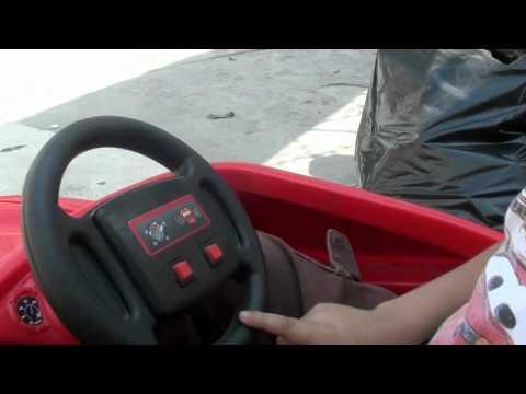 carro mcqueen - aqui el video para niños como manejar al rayo macqueen.