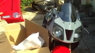 8. review of chinese EBAY fairing kit for honda rc51 unboxing only          - heymanspeedmotor