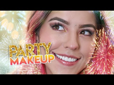 PARTY MAKEUP  | MUSAS LESSLIE LOS POLINESIOS