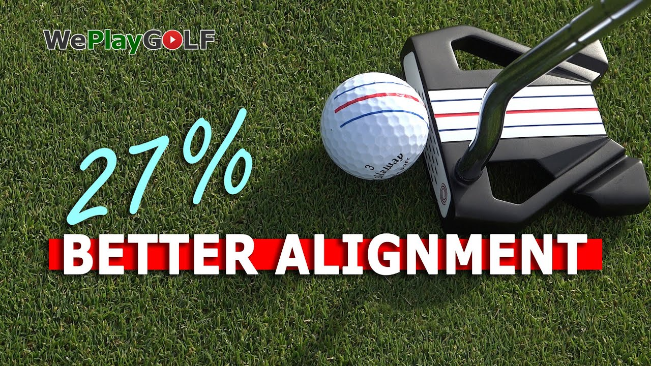 This is how you get 27% better alignment on you putts