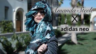 Casual & Comfy    Amanda Steele x Adidas Neo Lookbook by Amanda Steele