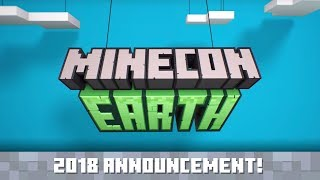 Announcing: MINECON Earth 2018!
