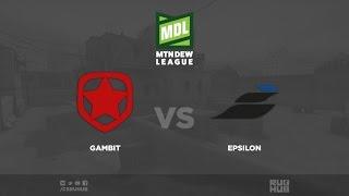 Gambit vs Epsilon - ESEA Premier Season 24 - de_cobblestone [CrystalMay]