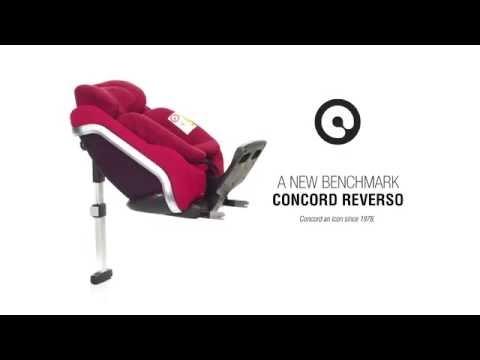 Concord Reverso Kindersitz Isofix 0 23 kg - Gruppe 0 1 Reboarder Testsieger