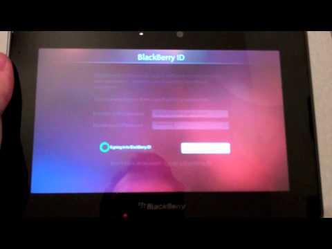 comment demarrer blackberry