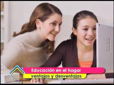 Educación en el hogar ventajas y desventajas