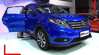 Video 2016, 2017 Dongfeng Fengguang 580 SUV launched on the Beijing Auto Show in China MP3, 3GP, MP4, WEBM, AVI, FLV Desember 2017