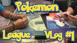 My very 1st Pokemon League Vlog & 1st Live Battle by Demon SnowKing