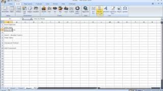Microsoft Excel 2007/2010 Exam Q&A pt 2