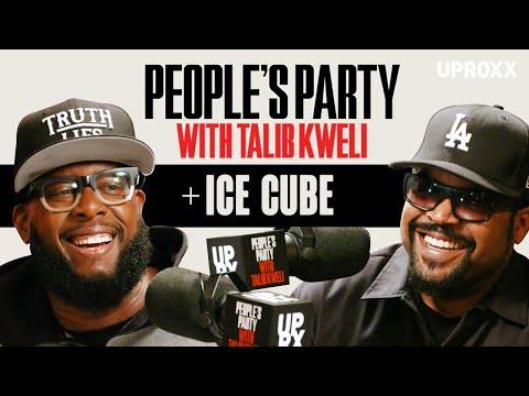 Talib Kweli & Ice Cube Talk N.W.A., East vs. West, Squashing Beefs, 'Friday,' BIG3 | People's Party
