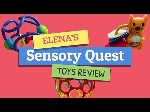Oball Classic Ball | Skip Hop Rattle & Teethe Keys | Ogosport Bolli Rattle - Sensory Toy Review