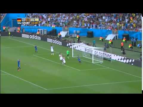 Germany 1 - 0 Argentina Final Full Highlights ( '22 ET - Mario Gotze ) 13 - 07 - 2014
