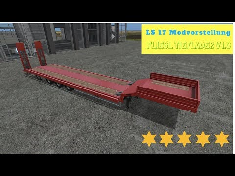 Fliegl low loader Objectattache v1.0.0.1