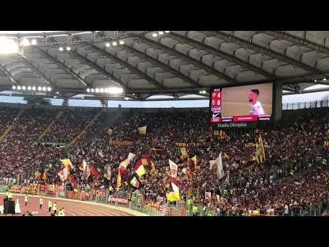 Roma - Sassuolo 4-2: la Curva Sud