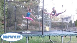 Sisterly Straddle Jumps (WK 197.2) | Bratayley