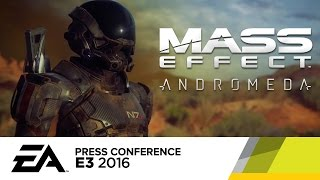 Mass Effect Andromeda Behind The Scenes Reveal Trailer - E3 2016 EA Press Conference by GameSpot