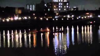 木曽川の夏(1)犬山城・鵜飼い・花火