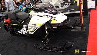 10. 2018 Ski Doo MXZ TNT 850 E-Tec Sled - Walkaround - 2017 Drummondville ATV Show