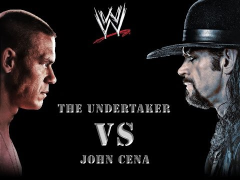 WWE Smackdown Undertaker vs John Cena