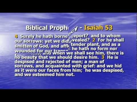 SUPERNATURAL BIBLE PROPHECY CONCERNING JESUS THE JEWISH MESSIAH (PART #2)