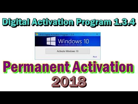 How to Activate Windows 10 Permanent | W10 Digital Activation Program 1.3.5