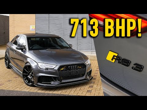 FLAT OUT in a 713bhp Audi RS3 Saloon!