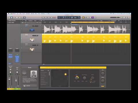 Logic Pro X Tutorials - Drummer tracks & Drum Kit Designer 1/4 (audio fixed)