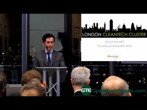 London Cleantech Cluster: Greater London Authority Welcome - 21st November 2013