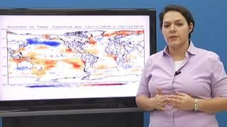 Previsão Climática para o trimestre Janeiro, Fevereiro e Março de 2017. Dra. Renata Tedeschi.