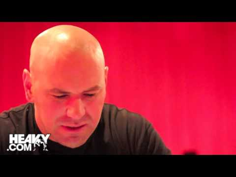 A sitdown with Dana White talks about Meeting Fans
