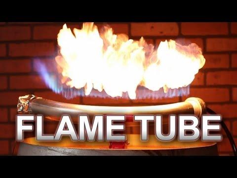 Sound Reactive Flame Tube! (Rubens Tube)