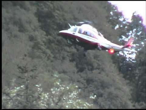 Il salvataggio con l'elicottero dei turisti tedeschi