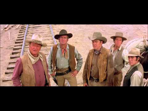 "John Wayne Westerns Collection: The Train Robbers - ""Liar"" Clip"