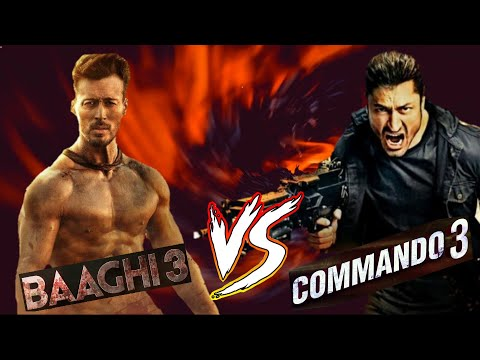 Baaghi 3 vs Commando 3 - Who would win in a Fight???