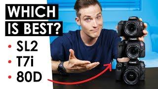 Video Best Canon DSLR for Video? — Canon SL2 VS. T7i VS. 80D MP3, 3GP, MP4, WEBM, AVI, FLV Juli 2018