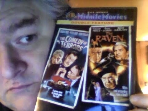 The Comedy Of Terrors / The Raven (dvd Review)