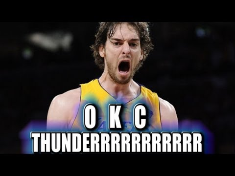 trade - Pau Gasol should the Oklahoma City Thunder trade for him.